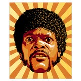 Vinilos Decorativos: Jules Winnfield, Pulp Fiction 4