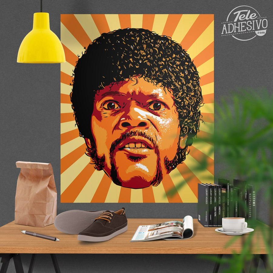 Vinilos Decorativos: Jules Winnfield, Pulp Fiction