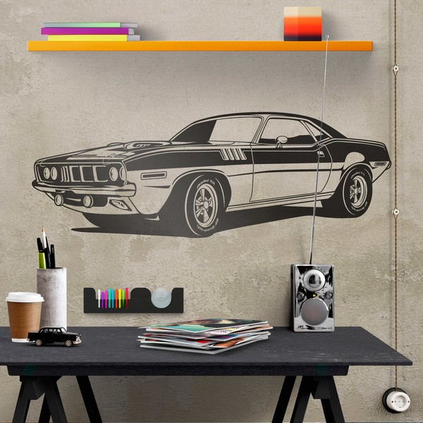 Vinilos Decorativos: Ford Mustang Muscle Car