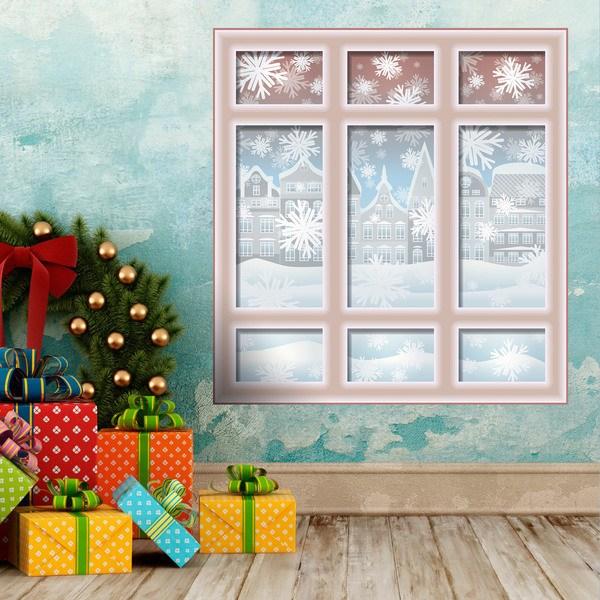 Ventana navide a - Disegni di natale per finestre ...