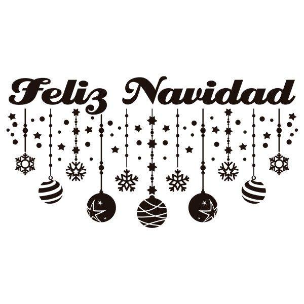 vinilos decorativos decoracin feliz navidad