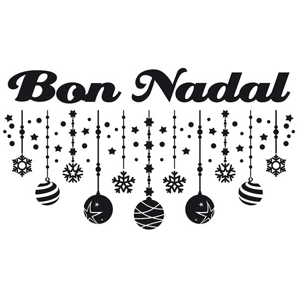 Vinilo decorativo Bon Nadal | TeleAdhesivo.com