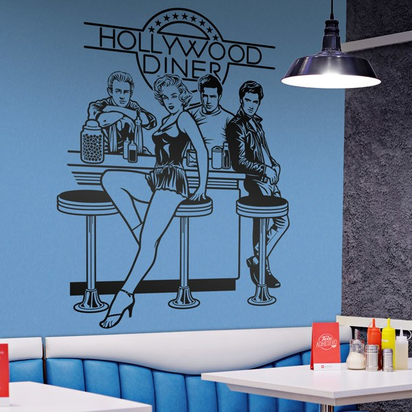 Vinilos Decorativos: Hollywood Diner