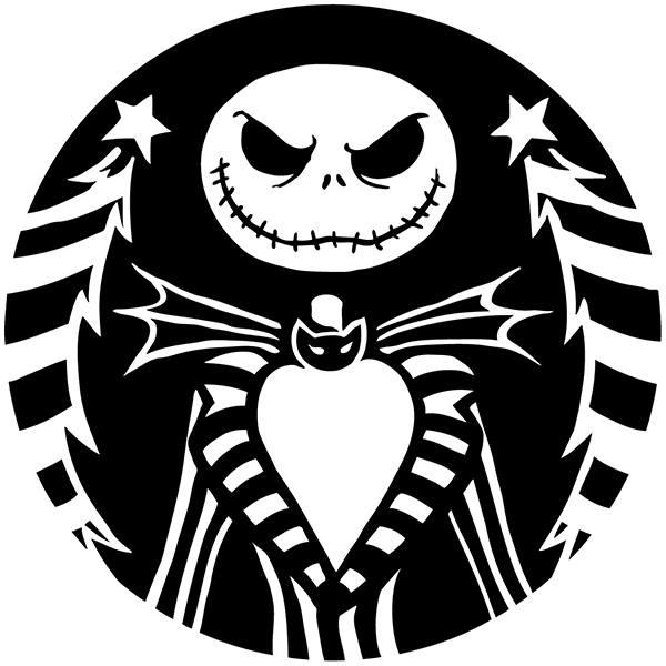 Vinilo decorativo infantil de Jack Skeleton