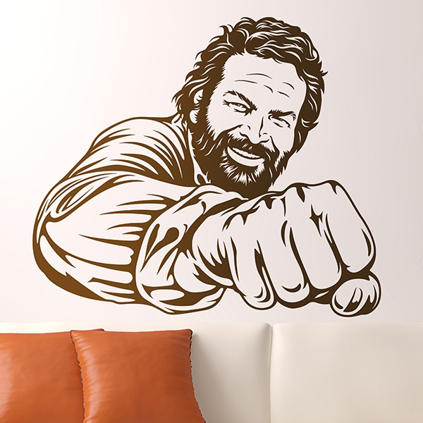 Vinilos Decorativos: Bud Spencer
