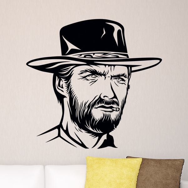 Vinilos Decorativos: Clint Eastwood