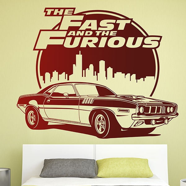 Vinilos Decorativos: The Fast and The Furious 0
