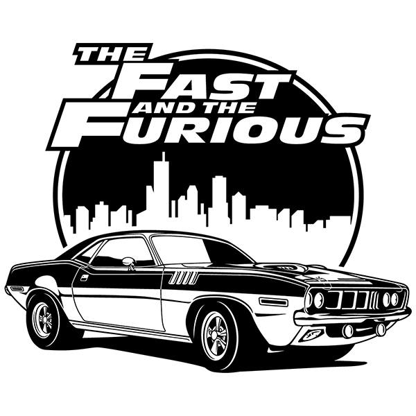 Vinilos Decorativos: The Fast and The Furious