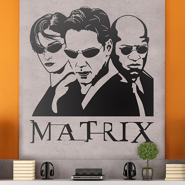 Vinilos Decorativos: The Matrix 0