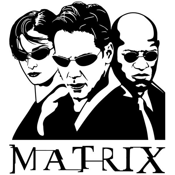 Vinilos Decorativos: The Matrix