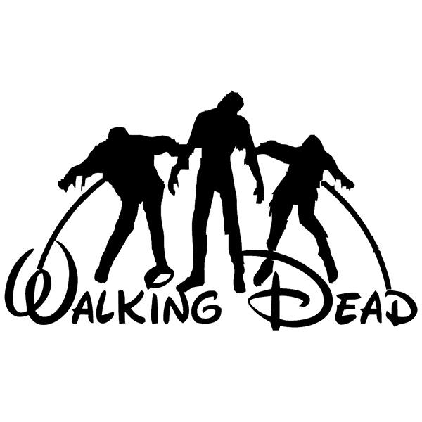 Vinilos Decorativos: Walking dead Disney