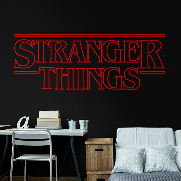 Vinilos Decorativos: Stranger Things 0
