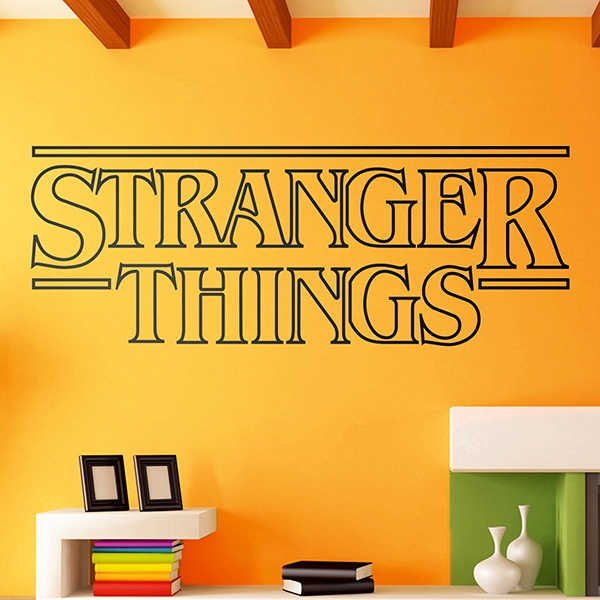 Vinilos Decorativos: Stranger Things