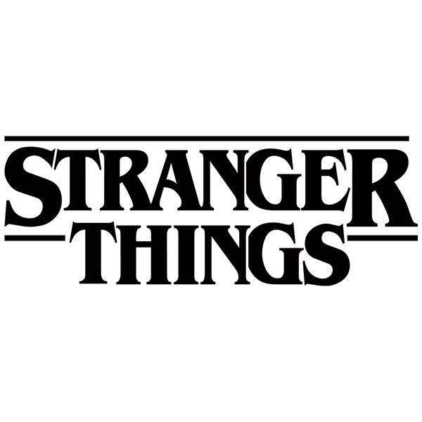 Vinilos Decorativos: Stranger Things 2