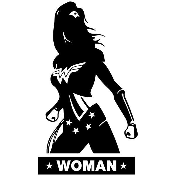 Vinilos Decorativos: WC WonderWoman