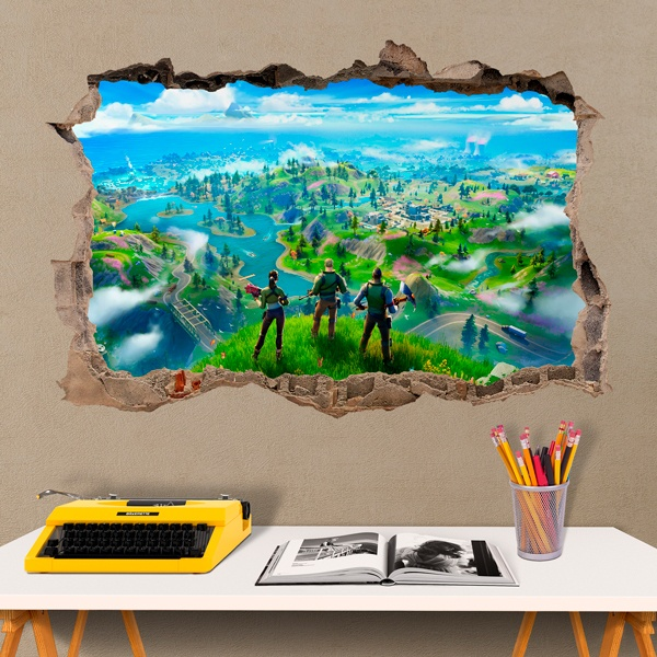 Vinilos Decorativos: Fortnite preparados