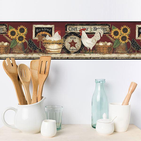 Cenefas decorativas autoadhesivas - Cenefas autoadhesivas cocina ...