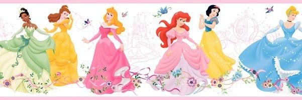 Cenefas infantiles princesas disney imagui - Cenefas decorativas infantiles ...