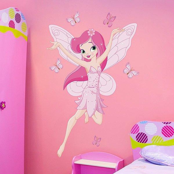 Vinilos de hadas infantiles - Dibujos infantiles para decorar paredes ...