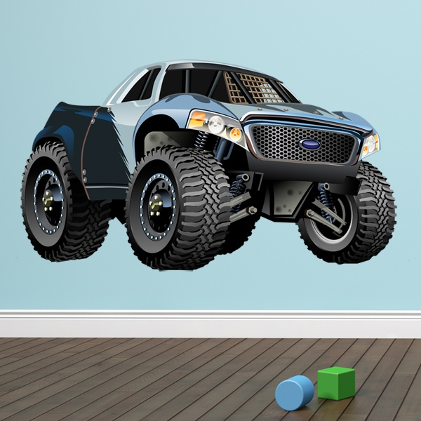 Vinilos Infantiles: Monster Truck Ranchera Ford