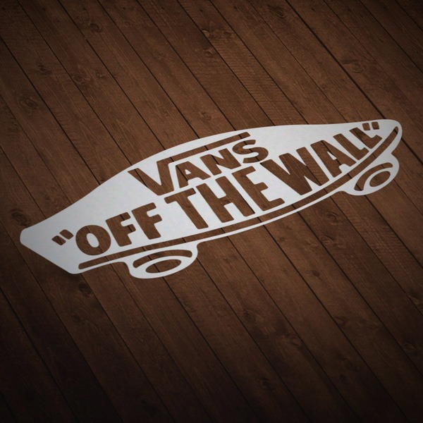 Pegatinas: Vans off the wall skate