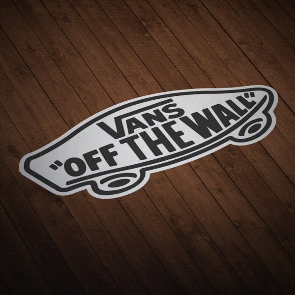 Pegatinas: Vans off the wall 5