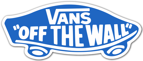 Pegatinas: Vans off the wall 6 0