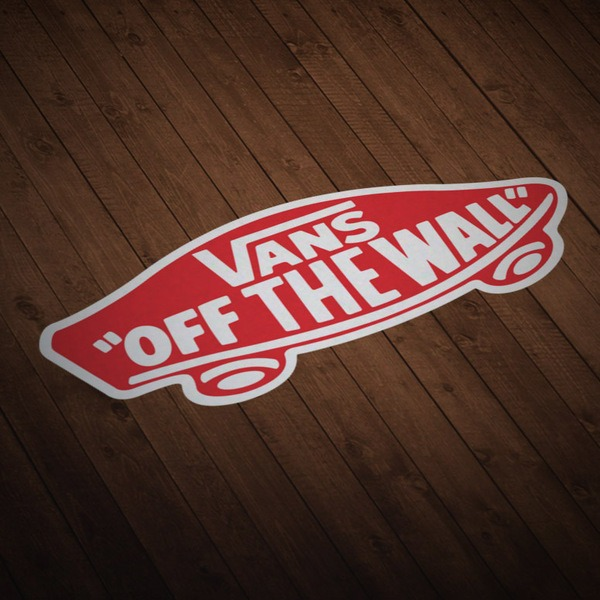 Pegatinas: Vans off the wall 7
