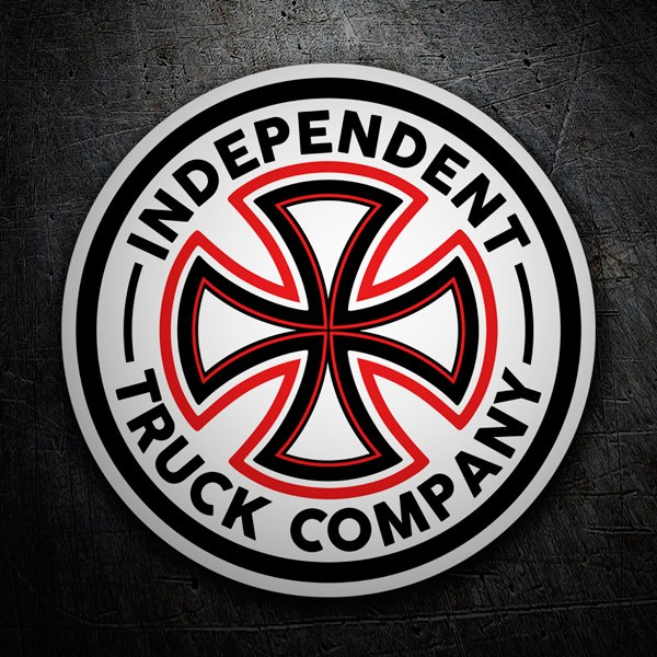 Pegatinas: Independent Truk Company Classic