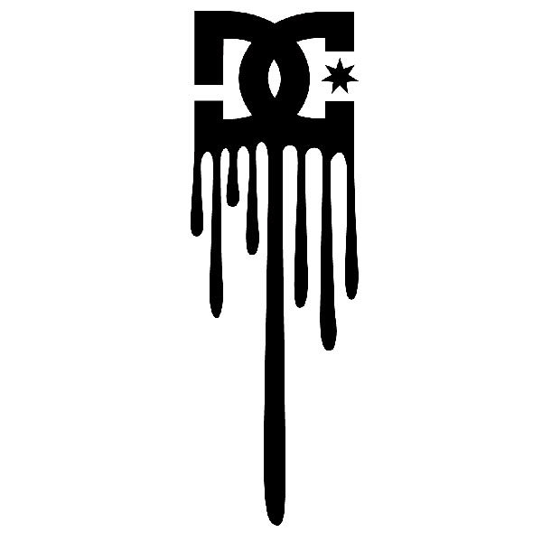 Pegatinas: Dc Shoes Logo Vertical