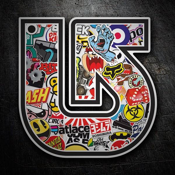 pegatinas surferas logos de surf skate snow
