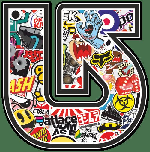 Pegatina Surf Skate Logo Flecha Burton Stickerbomb | TeleAdhesivo