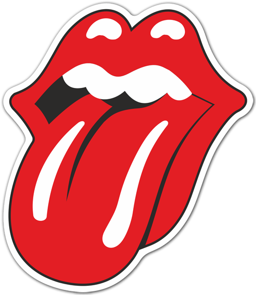 Pegatinas: The Rolling Stones color