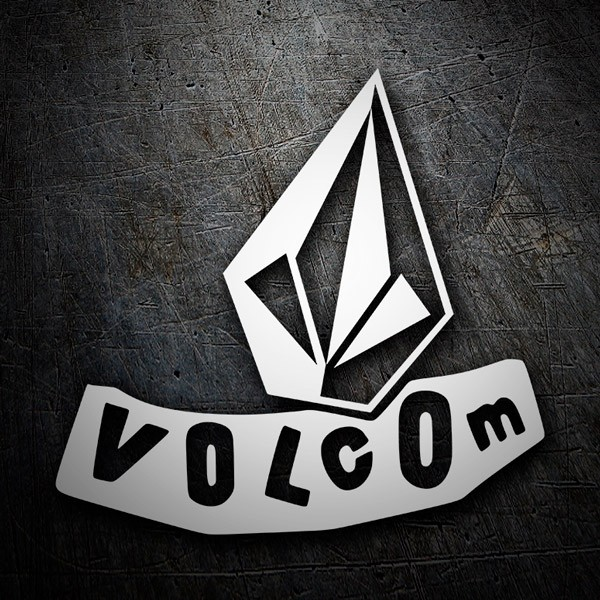 Pegatinas: Volcom abstract