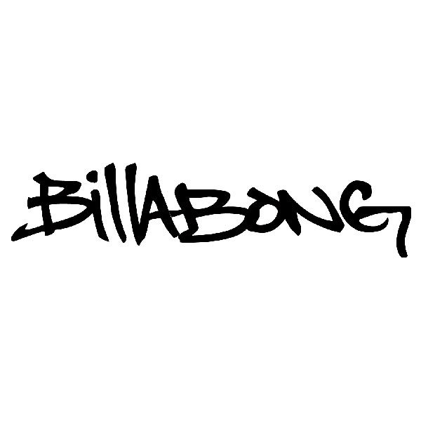Pegatinas: Billabong graffiti