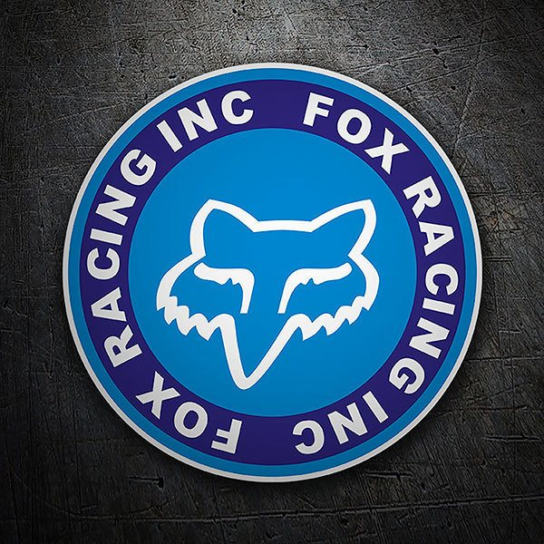Pegatinas: Fox Racing circular