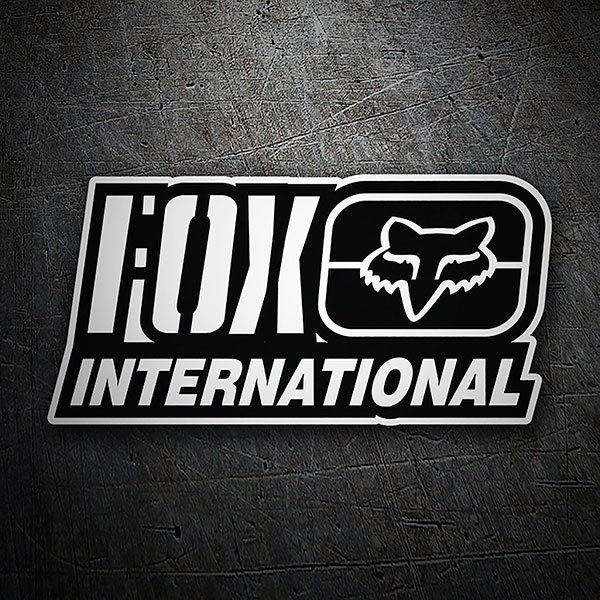 Pegatinas: Fox Racing International