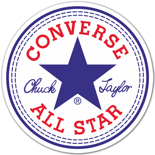 Pegatinas: Converse All Star