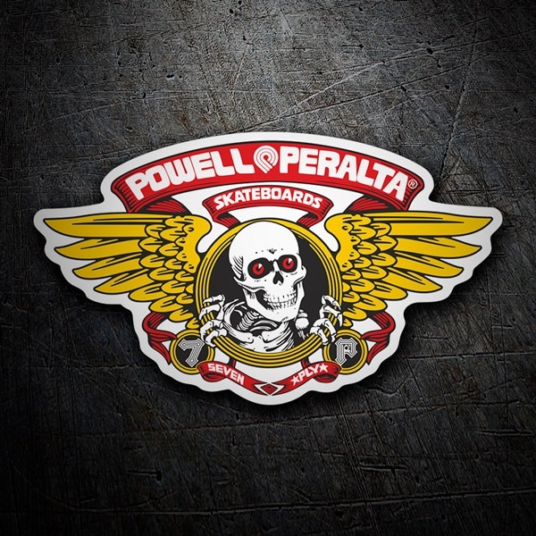 Pegatinas: Powell Peralta Skateboards 1
