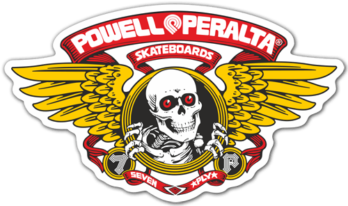 Pegatinas: Powell Peralta Skateboards