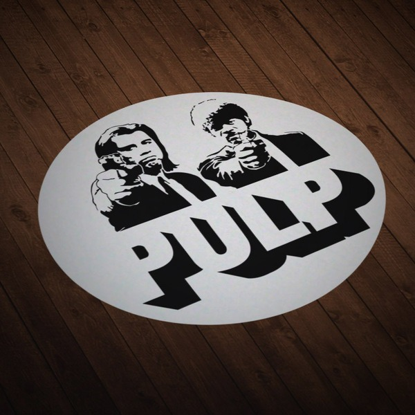 Pegatinas: Pulp Fiction
