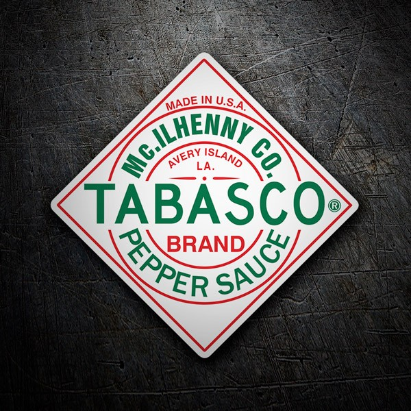 Pegatinas: Tabasco Pepper Sauce