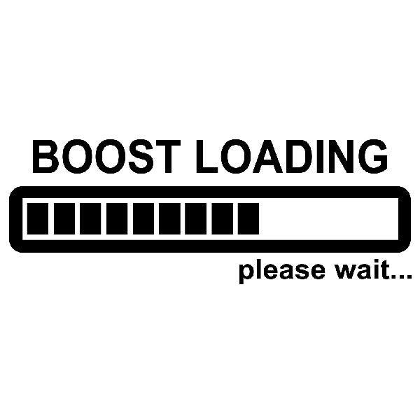 Pegatinas: Boost Loading please wait