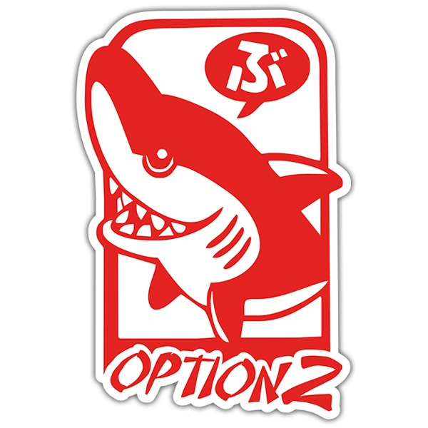 Pegatinas: Tiburón, Option 2