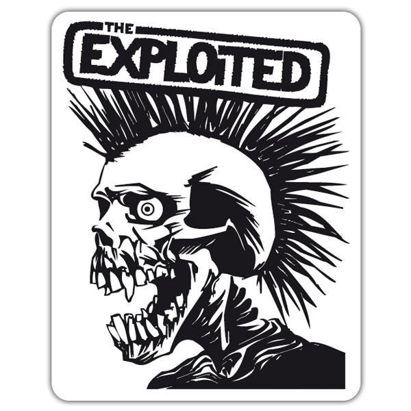 Pegatinas: The Exploited