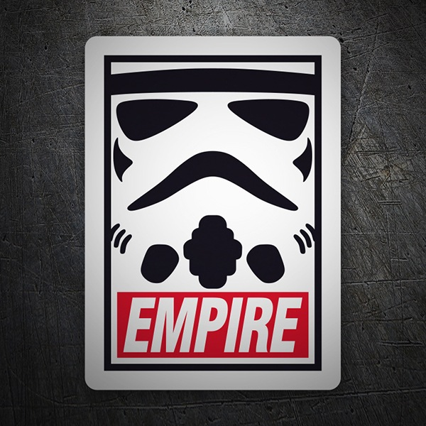Pegatinas: Obey Empire (Star Wars) 1