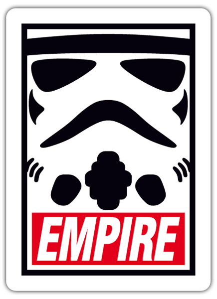 Pegatinas: Obey Empire (Star Wars) 0