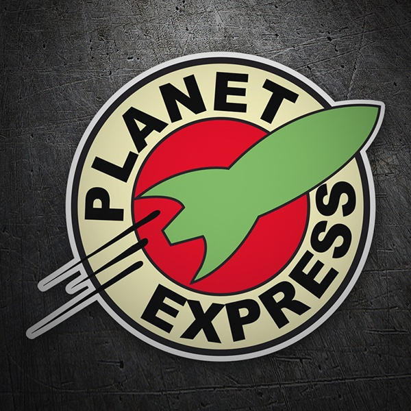 Pegatinas: Futurama Planet express