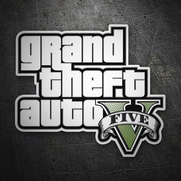 Pegatinas: Grand theft auto V