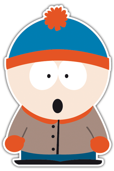 Pegatinas: Stan South Park